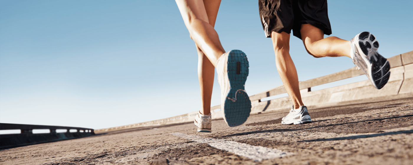 Orthotics help you run
